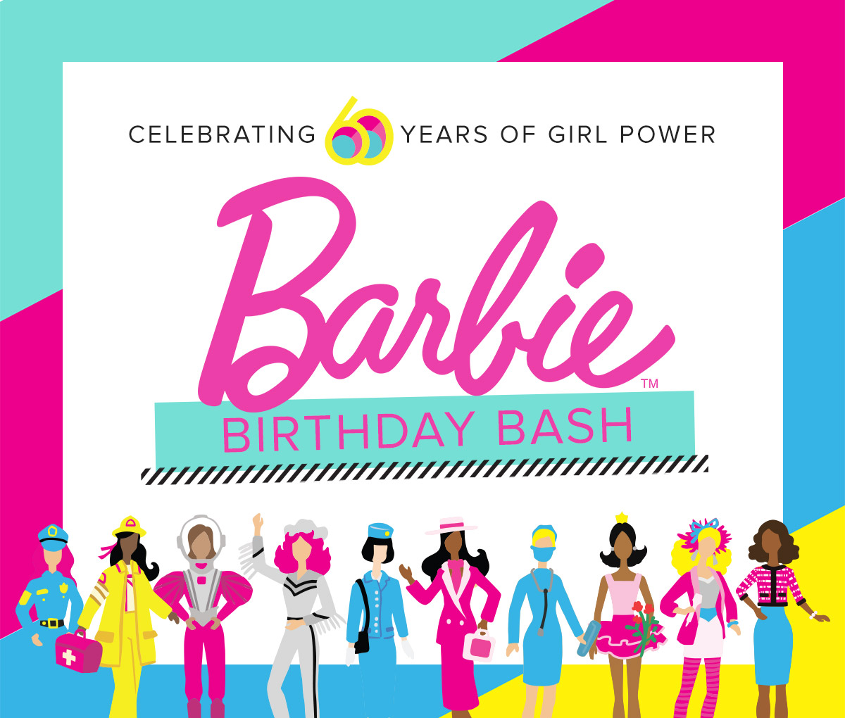 Celebrating 60 Years Of Girl Power : Barbie's Birthday Bash
